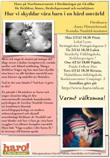 Föräldraföreläsning i Kiruna