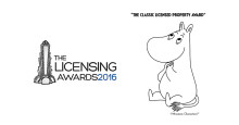The Moomins are up for a major award at The Licensing Awards 2016