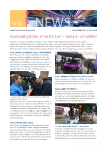 Stolpe in för Stad och Land, nyhetsbrev 6, juni 2019