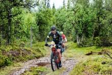 Stor cykelfest när Fjällturen genomfördes
