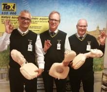 Chaufförer utbildade i att rädda liv – med Hjärt- och Lungräddning