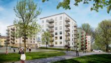 Ramirent bidrar när Stockholm får nya hyresrätter