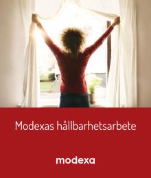 Det arbete vi gör inom Modexa bidrar till att nå de globala hållbarhetsmålen.