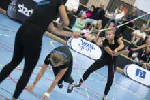 Kämpinge GF dominerar i lagtävlingen i hopprep under SM