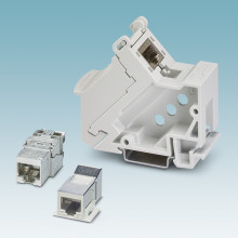 Robust RJ45 modules for industrial applications