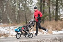 Team Nordmark - Mikael och hans 5-årige son Hugo springer Stockholm Marathon ihop