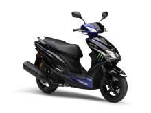 「CYGNUS-X」台数限定モデルを発売 MotoGPマシン「YZR-M1」のイメージを再現した原付二種スクーター Monster Energy Yamaha MotoGP Edition