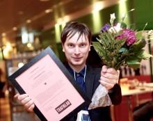 Samtrafiken: Johan Nilsson vinnare av Trafiklabhjälte 2015