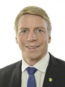 Finansmarknads- och konsumentminister Per Bolund besöker Lantmännen Agroetanol