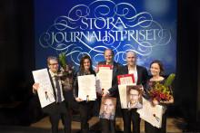 Vinnarna av Stora Journalistpriset 2013
