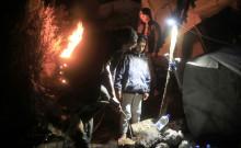 Wintereinbruch auf Lesbos: Katastrophale Situation in Flüchtlingslagern