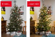 Kaunis joulukuusi – näin onnistut kuusen kuvaamisessa!