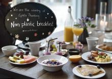 Plastfri frukost på Radisson Blu Metropol Hotel Helsingborg