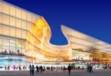 Emporia invigs – Strängbetong, stor centrumbyggare i Skåne