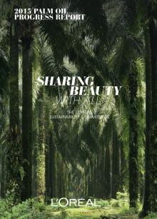 2015 Palm Oil Progress Report