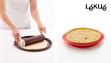 Hemmagjord paj och pizza med perfekt krispig botten