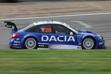 Dacia gasar och blickar mot STCC-pallen