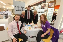 Free blood pressure clinic refers a third of Dundonians to their GP, as Stroke Association calls on public to wake up to stroke risk