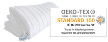 Somnas Kedjetäcke® OEKO-TEX® certifierat