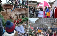 Reindeers, mince pies, Santa and snow! Mitie and Big Local support festive community fair