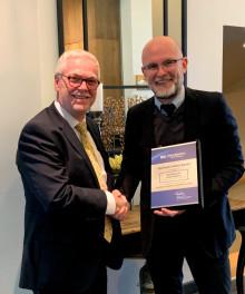 Best Western Hotel Hebron i centrum af København har vundet den eftertragtede Best Western Quality Award - investeringer og klassisk værtskab giver resultater
