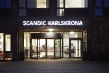 """Scandic Karlskrona först i södra Sverige som """"Väl brandskyddat hotell"""""""