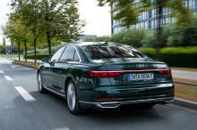 Luksus møder effektivitet i Audi A8 L PHEV
