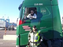 Lastbilschauffören – en viktig kund