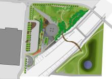 Vattenparken, illustrationsplan