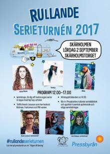 Premiär för stor läslustturné i Skärholmen