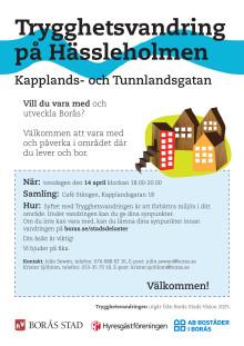 Trygghetsvandring Kapplands- och Tunnlandsgatan