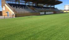 Hybridgräs för fotboll - första matchen i Sverige spelas på Lagavallen i Ljungby