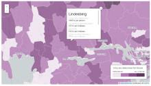 Lindesbergs kommun trea i länet på kulturkostnader