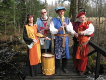 Svartälvens Pijpare och Borduner har släppt sin första CD