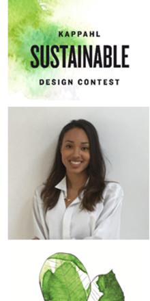 Lovande designer vinner KappAhl Sustainable Design Contest