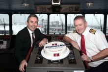 Stena Line celebrates 1st anniversary of new ferry route