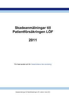 Patientskadeförsäkringens årsrapport 2011 för Västerbottens län
