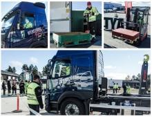 Kvaltävling till Yrkes-SM för unga lastbilsförare i Göteborg 13 oktober