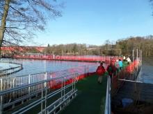 Combisafes fallskyddssystem hjälper NECs besökare att gå på vatten