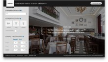 Bose Professional presenterar Online Business Music System Designer för ljudinstallatörer!