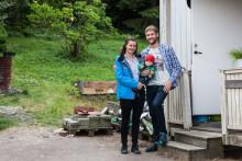 Här är familjen med #Sverigesfulasteträdgård