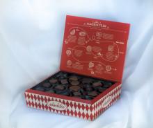 Aladdins Jubileumsask – en hyllning till svensk chokladhistoria