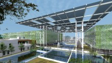 Surbana Jurong unveils sustainable vertical farming concept within the urban environment