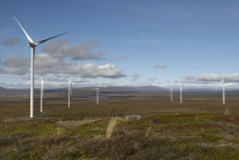 Idag invigs Sjisjka vindpark