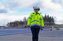 Tillsammans med Skanska säkrar vi flödet på Truckstop Gilltuna