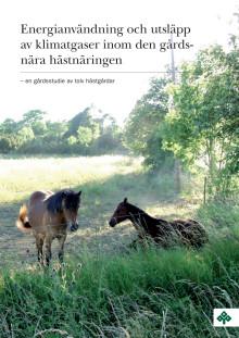 Hästföretagare i ny klimatstudie