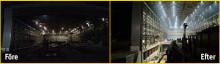 Nyhet! LED-armatur med 60 000 lumen för höga höjder