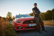 97-årig svensker er verdens ældste Mustang-ejer