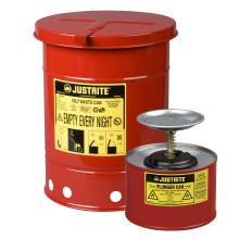 Brandsäkra behållare – Miljösäkra komplement till Ikatex® torkdukar.