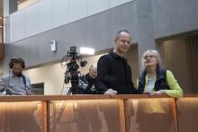 Selma Lagerlöfs Centers arkitektur blir TV-program i Europa